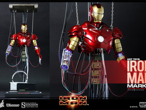 Iron man Damaged suit build