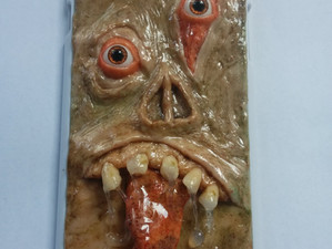 Polymer Clay Monster Phone Case (Completed)