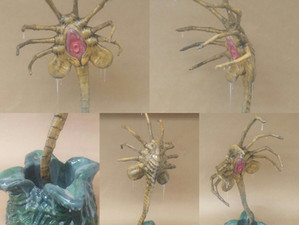 Facehugger build and paint