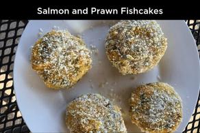 Salmon and Prawn Fishcakes