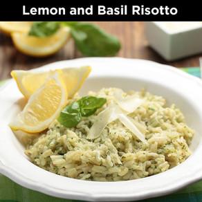 Lemon and Basil Risotto