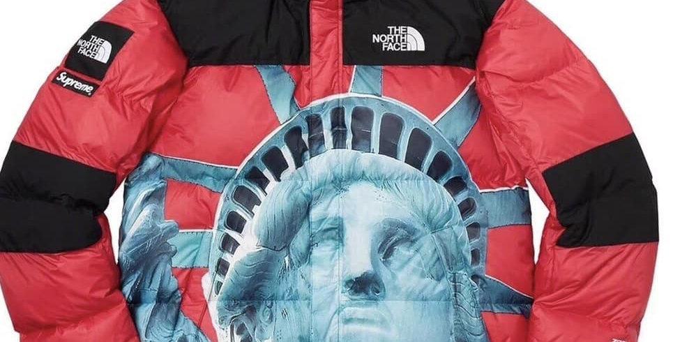 Куртка TNF x Supreme Liberty