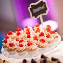 Mini-cupcakes on a Sweet Table - Wedding