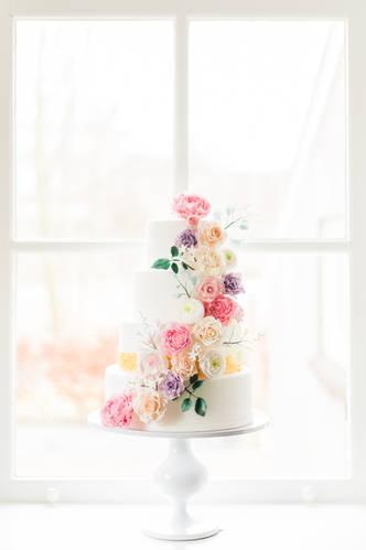 Wedding Cake Sugarflowers