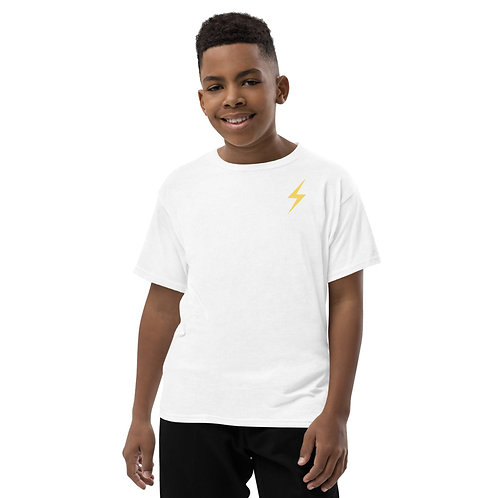 All The World's My Stage Youth T-Shirt - Yellow Pop