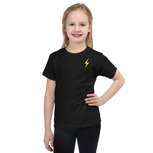 All The World's My Stage Kids T-Shirt - Yellow Pop