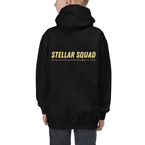 Stellar Squad Youth Hoodie - Yellow Pop