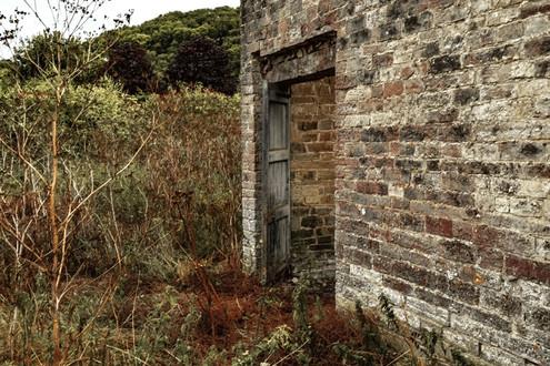 The Abandoned farmyard Barn