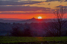 Sunset From Shepton Mallet