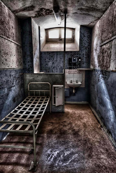 Chilling Prison Cell.