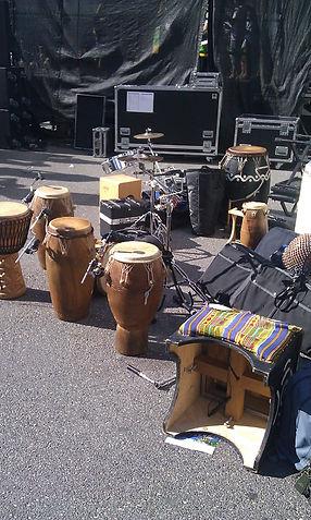 Afropercussion Konzerte
