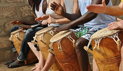 Afropercussion.ch Workshop in Ghana