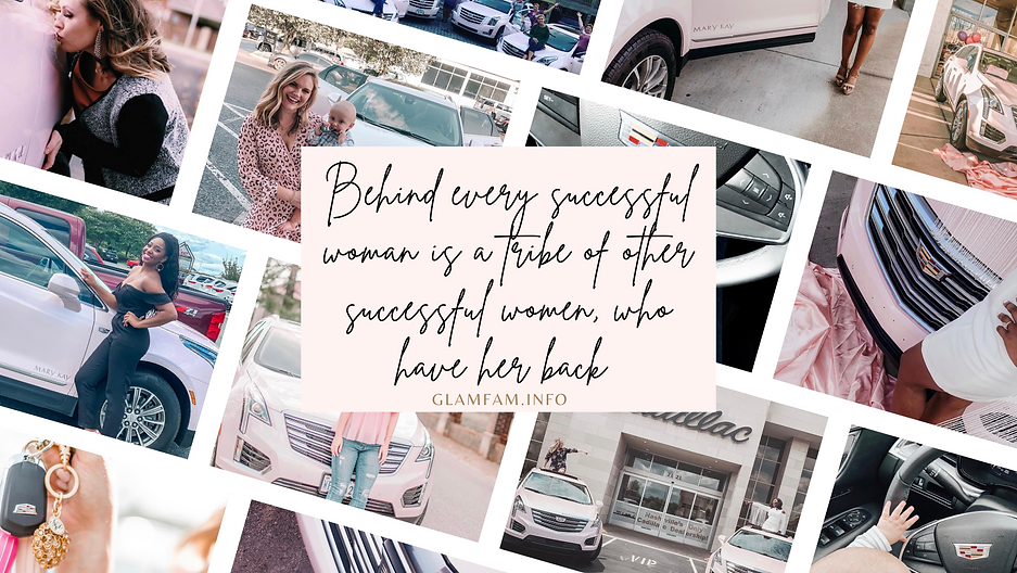 Behind every successful woman is a tribe