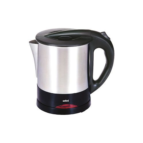 SANFORD STAINLESS STEEL ELECTRIC KETTLE 1.0 LITRE