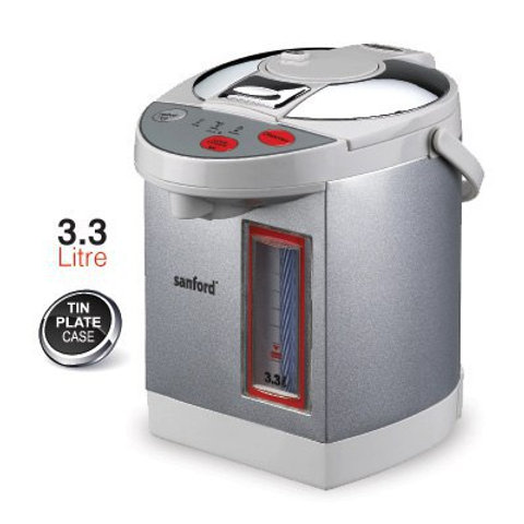 SANFORD STAINLESS STEEL ELECTRIC KETTLE 3.3 LITRE