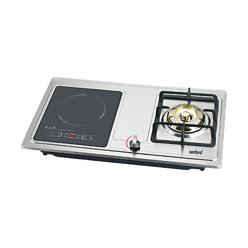 SANFORD INDUCTION COOKER WITH GAS STOVE 3500 WATTS