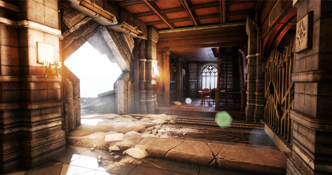 UnrealEngine4 Map | Maxime Lejars