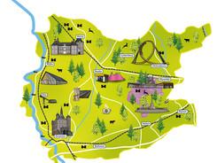 Illustratie kaart Salland