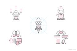 Ballerina Icons