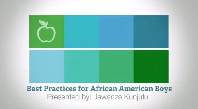 Black Boys: Best Practices for Teaching African American Boys presented by Jawanza Kunjufu   PCG