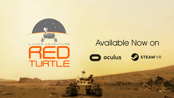 Redturtle is on SteamVR NOW!