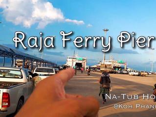 Boarding point at Thong-Sala pier