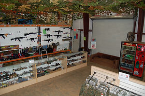 Airsoft Retail Store