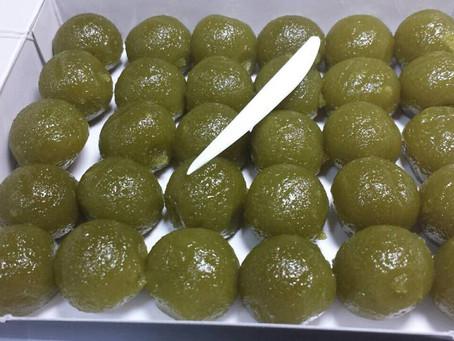 Uji is famous for Tea dumpling and Fucha-ryori cuisine (Chinese-style Buddhist vegetarian cuisine)