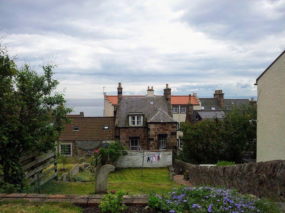 Casa di amici ad Anstruther, affacciata sul Firth of Forth