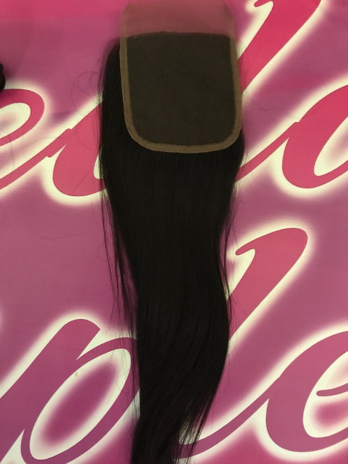 Chinese Silky Straight Lace Closure