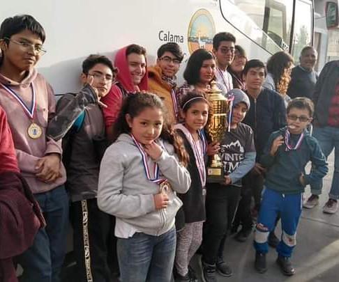 Equipo de ajedrez Reyes del Loa ascendió a primera división del AJEFECH