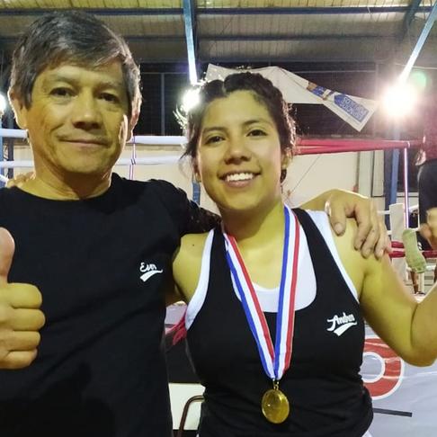 Un orgullo para Calama: Loína representa a Chile en torneo internacional de boxeo