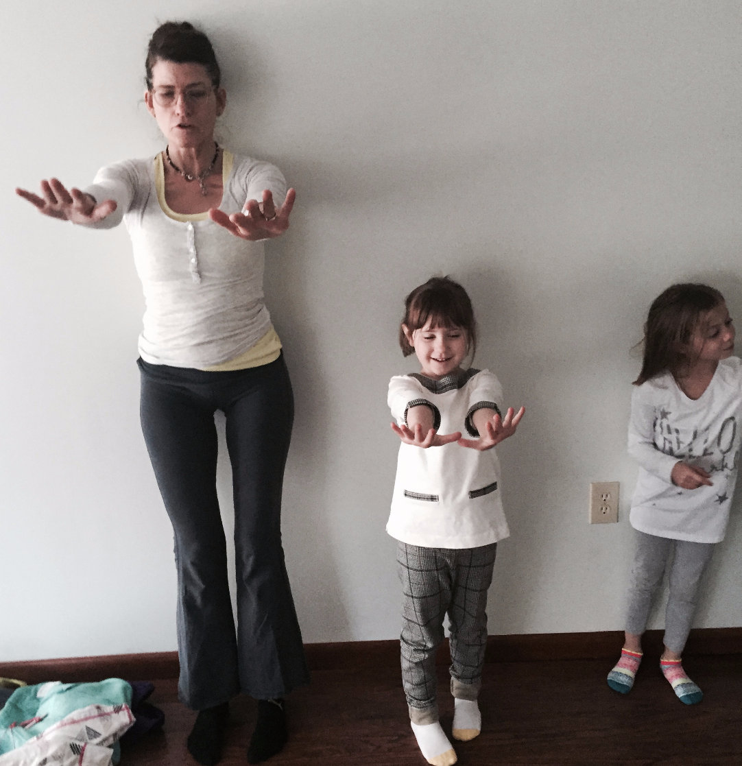 Family Yoga - One Child + One Adult