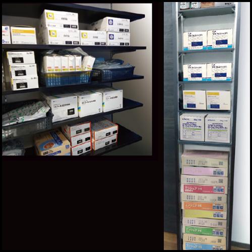 薬棚の設置・施工
