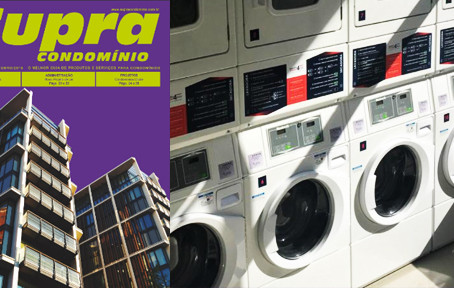 Lavando roupa fora de casa?
