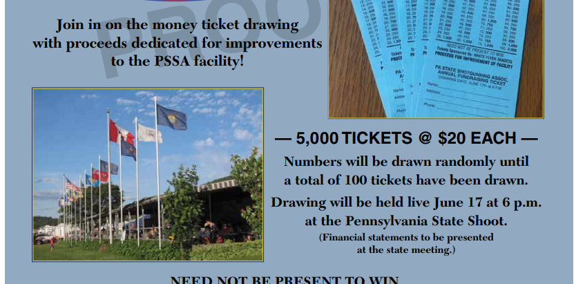 PSSA Annual Fundraising Ticket