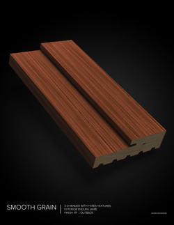 FULL PROFILE_Smooth Grain_Outback_ Jamb_3D_