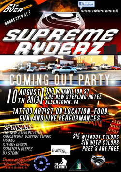 Supreme rydrz coming out part flyer