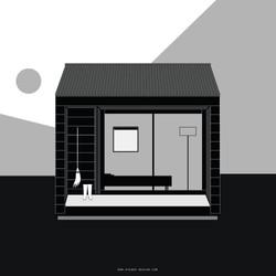 MUJI / Minimalist House Illustration [SD]