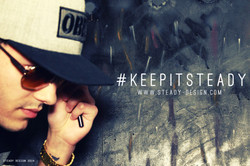 KEEPITSTEADY PROMO WITH PAINTING IN THE BACK PROMO JUNE 2014.jpg