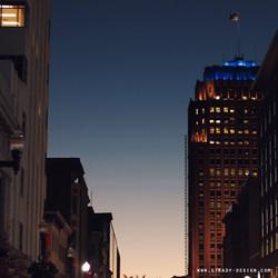 Allentown going up! night cap.