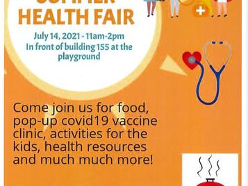 Hilltop Apartments Summer Health Fair