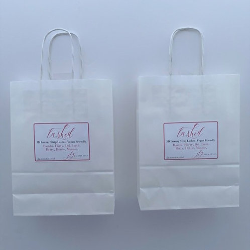 x12 Lashed Bags