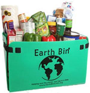 Earth Bin® - 4 Bin Set with Free Tote Bag