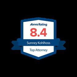 Kohlhoss, Sunney_Avvo rating