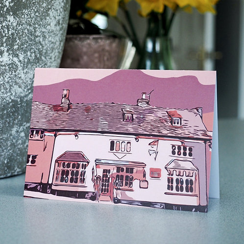 Chilterns Cottages Greetings Card | Wendover
