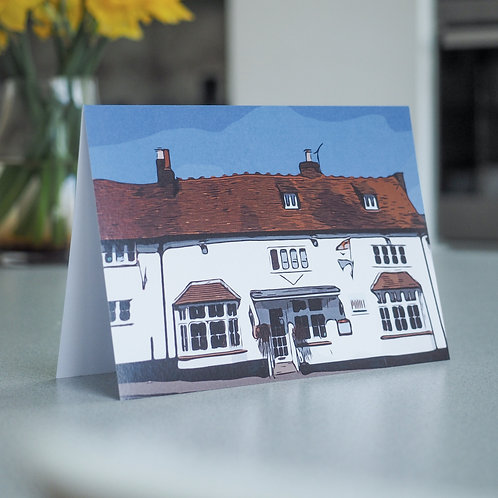 Chilterns Cottages Greetings Card: Wendover