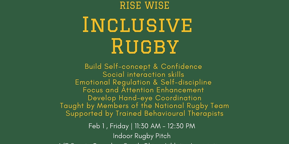 HK Rugby Union x Rise Wise Inclusive Rugby Open Day *Free*