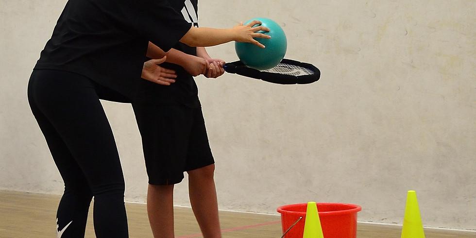 Squash Program for Speciel Needs Children