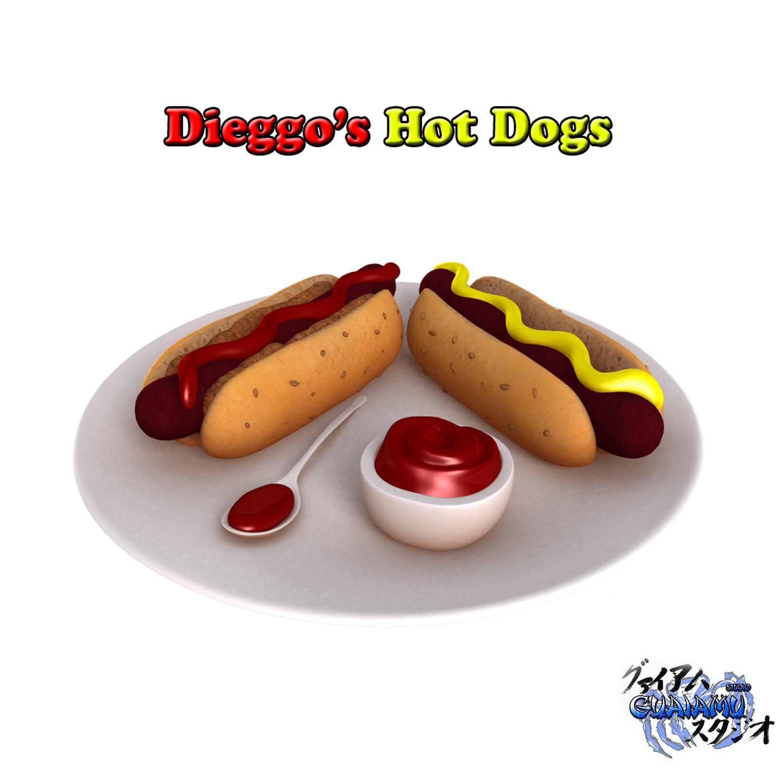 Dieggo's Hot dogs for DAZ